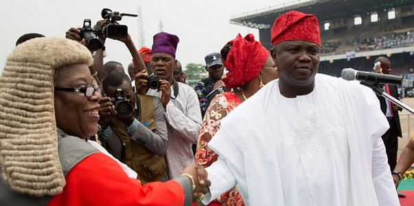 Photos from Akinwunmi Ambode's inauguration as Lagos governor