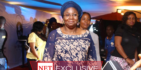 Fashola's wife makes first public appearance since handover
