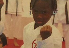 You don't want to mess with Eldee as daughter bags Yellow belt in Karate