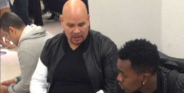 Photo: Patoranking meets Fat Joe in New York