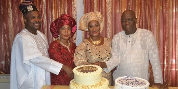 PHOTOS: Kenny Ogungbe, KSB, others attend Moji Dokpesi's 60th birthday party