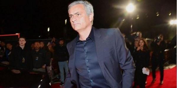 Jose Mourinho attends Cristiano Ronaldo's biopic premiere