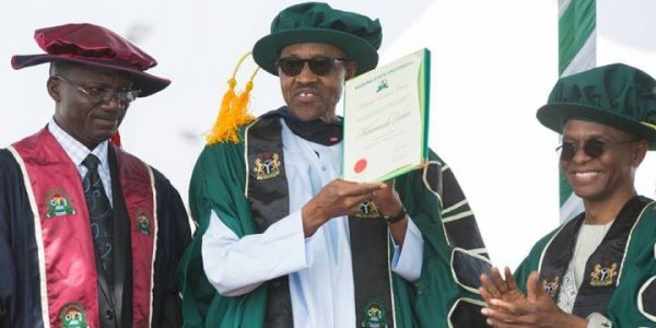 NET Extra: How President Muhammadu Buhari was made a DOCTOR