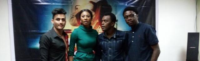 PHOTOS: Nollywood veterans, Jide Kosoko, Yemi Solade, Victor Olaotan team up for new movie