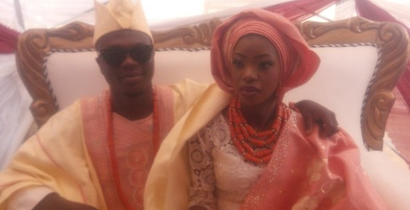 PHOTOS: Sound Sultan, Kenny Ogungbe, others attend Kennis Music manager, Shola Ijanusi's wedding