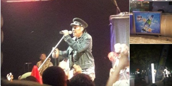 Aww! Majek Fashek brings his daughter to perform with him on stage
