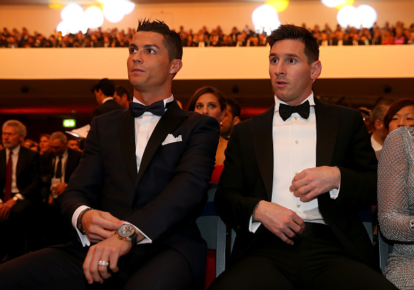 Lionel Messi and Cristiano Ronaldo go head-to-head for 2016 FIFA Best Player Award