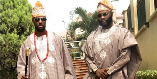 'Agbada can not waste' – See comments about the Olumofin brothers' appearance at Toolz and Tunde Demuren's traditional wedding