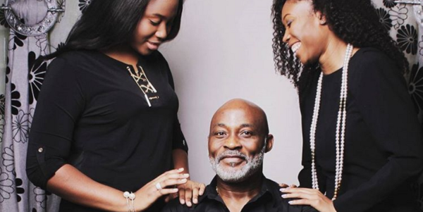 Daddy's Girls! Richard Mofe-Damijo shares adorable picture with his daughters