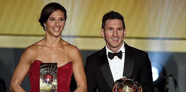 FIFA Ballon d'Or Gala 2015: See who won what