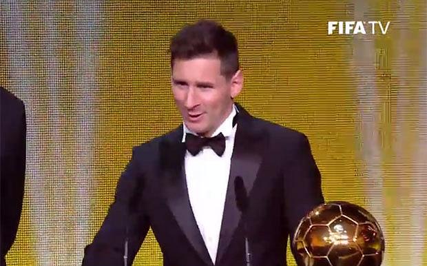 Breaking! Lionel Messi wins 5th FIFA Ballon d'Or