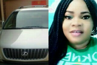 Actress, Chichi Gabriel acquires Lexus SUV