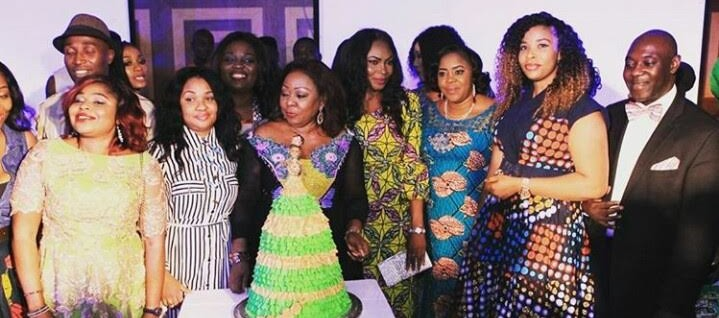 PHOTOS: Dele Momodu, Abimbola Fashola, Abba Folawiyo, others attend Florence Ita-Giwa's 70th birthday party
