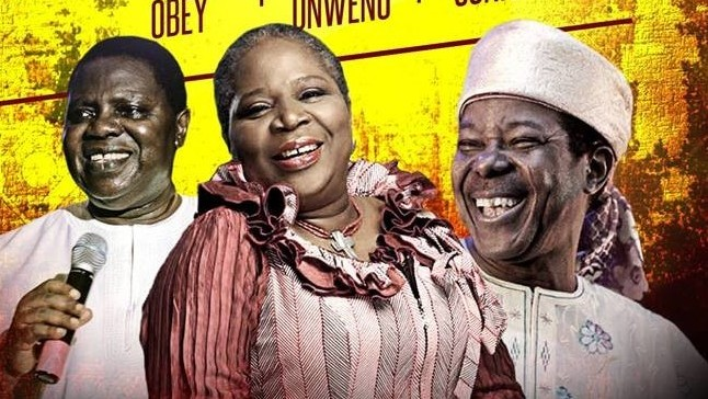 Ebenezer Obey, King Sunny Ade, Onyeka Onwenu to headline a concert in Lagos