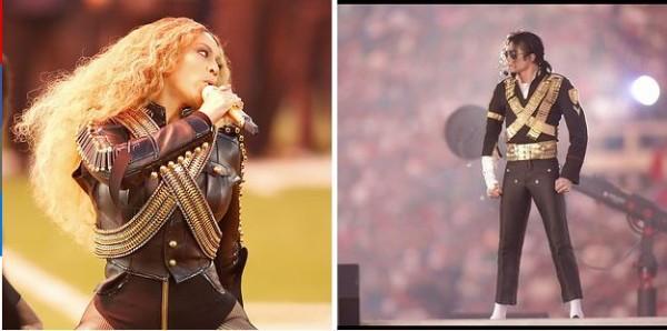 See their outfits? Beyoncé's Super Bowl show was a subtle tribute to Michael Jackson