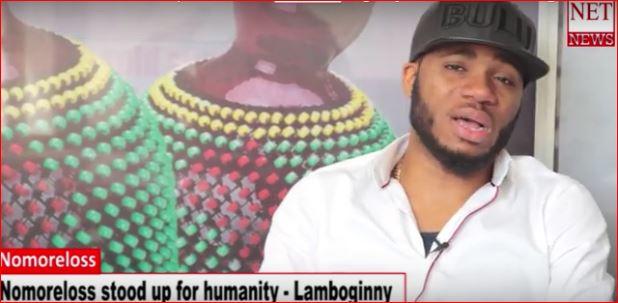 Nomoreloss stood up for humanity - Lamboginny
