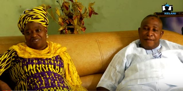 Watch Nollywood veteran Oga Bello and his wife recount how they met and fell in love!