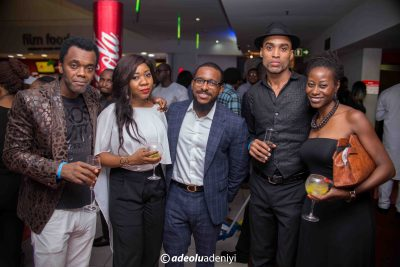 Glitz, glamour as Linda Ejiofor, Rita Dominic, Bimbo Akintola, others step out for premiere of '8 Bars And A Clef' in Lagos