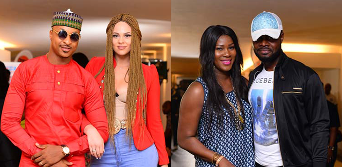 4 charming celebrity couples we saw at comedian Yaw's Sunday concert