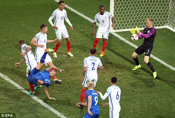 Euro 2016: Shameful England lose out to Iceland