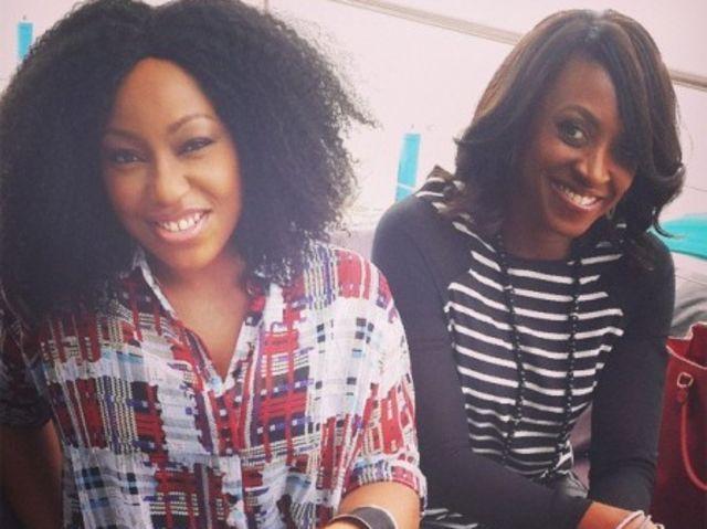 See birthday girl Rita Dominic show off dance moves with Kate Henshaw