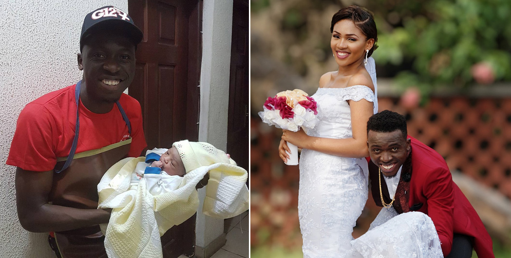 Comedian Akpororo welcomes first child with wife
