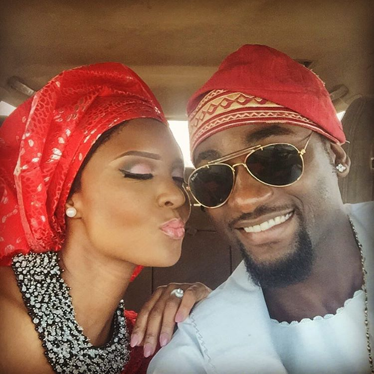 See Osas' charming birthday message to celebrate her husband, Gbenro Ajibade