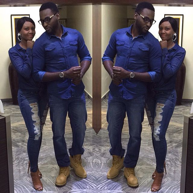 Why does Osas and Gbenro Ajibade's matching denim look so much like Justin and Britney?