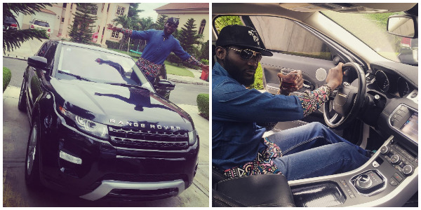 See Osas and Gbenro Ajibade's month-old daughter's Range Rover Evoque