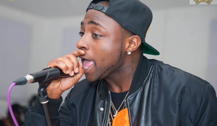 'Just shut up' - Davido tells fan who called his SONY deal 'Pure Water'