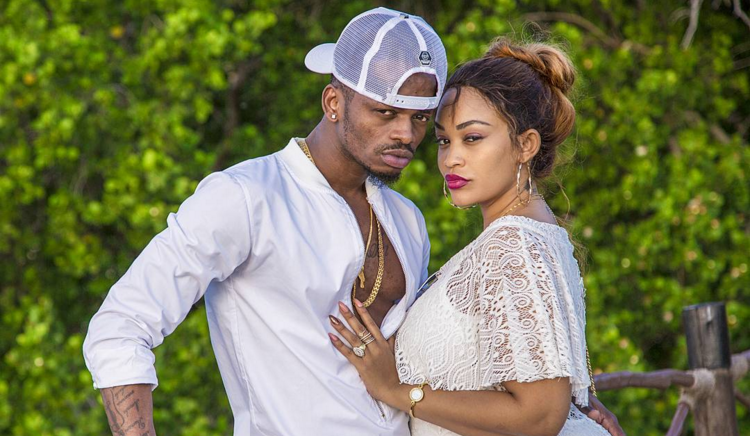 Diamond Platnumz And Wife Call It Quits On Valentine's Day