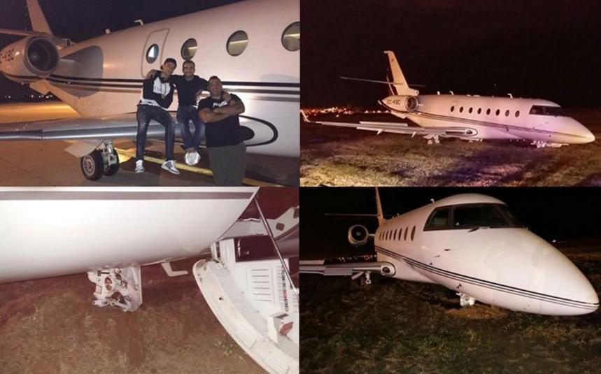 Cristiano Ronaldo's N6b private jet crashes at Barcelona airport