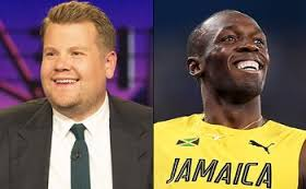 James Corden challenged Usain Bolt to a race and the result didn't surprise anyone