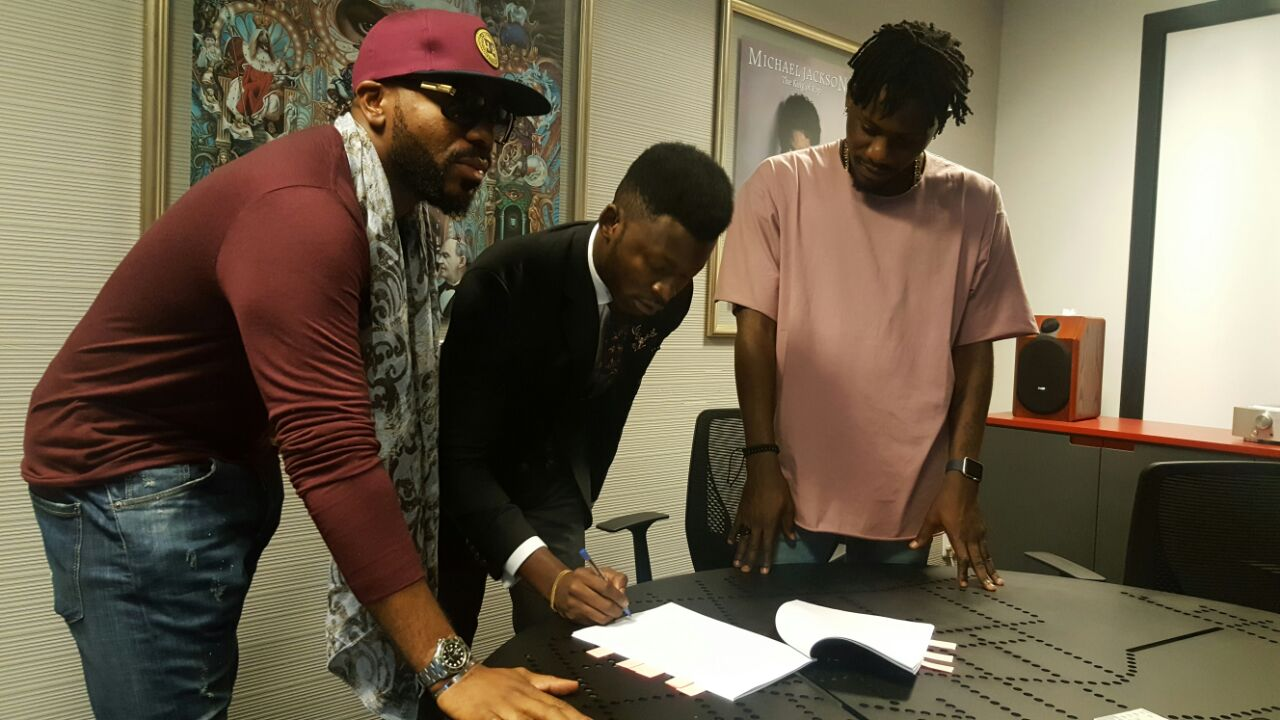 Like Wizkid and Davido, Ycee also gets a deal with SONY Music
