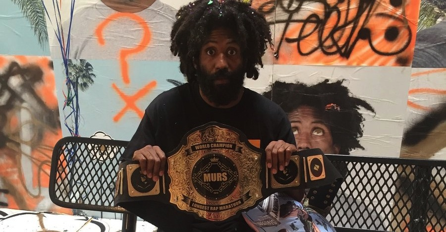 Meet Murs, the rapper who now holds the world longest rap record after 26-hour marathon