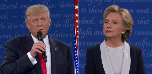 Live Updates from the US presidential debate as Donald Trump goes against Hilary Clinton