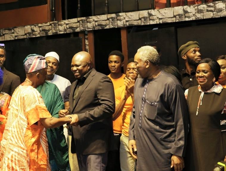 Akinwunmi Ambode unveils plans to build 5 new art theatres in Lagos