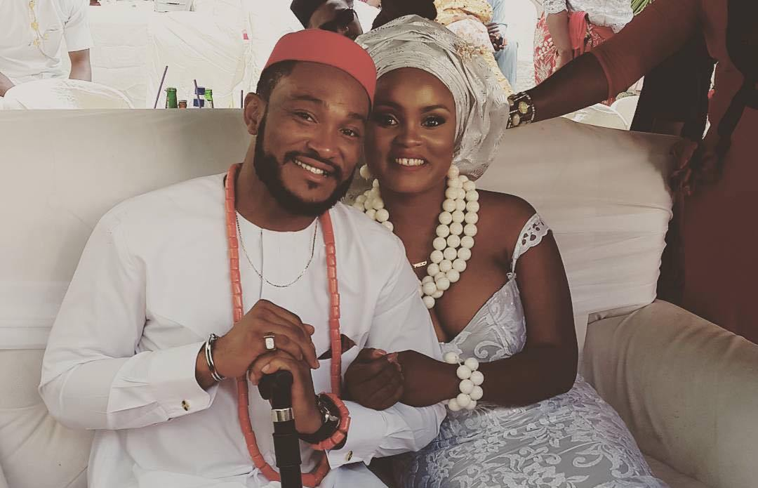 Blossom Chukwujekwu and his wife are too romantic for us to handle