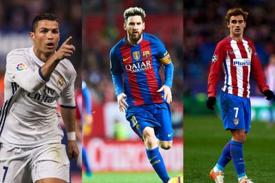 Can Griezmann beat Messi and Ronaldo to the FIFA Best Player Award?