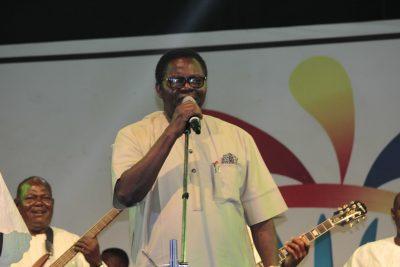 Watch the return of a legend: Ebenezer Obey's brilliant One Lagos Fiesta performance