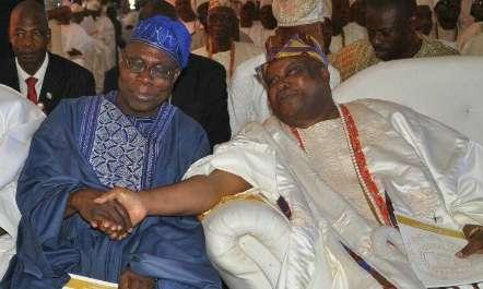 'The persecution of Mike Adenuga was only because Obasanjo was fighting Atiku' - Awujale of Ijebu
