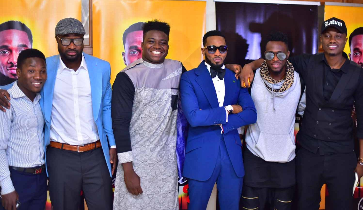 Vector, Harrysong, DJ Obi others in attendance as D'banj rewards CREAM lottery winners