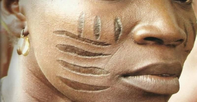 Are tribal marks really a sign of beauty?