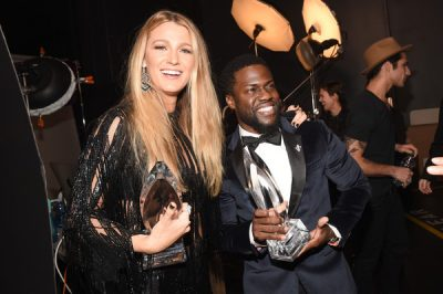 Blake Lively, Kevin Hart, DJ Khaled, Ellen DeGeneres and more turn up for the 2017 People's Choice Awards