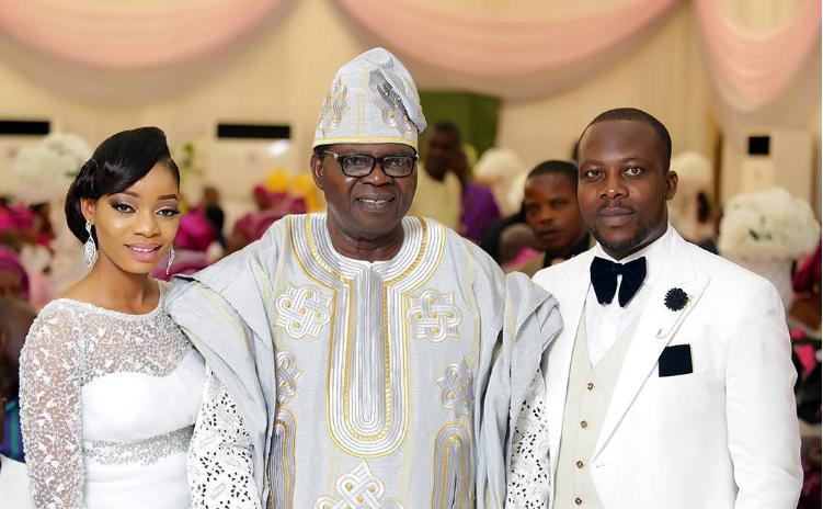 Ebenezer Obey gives granddaughter the best wedding ever
