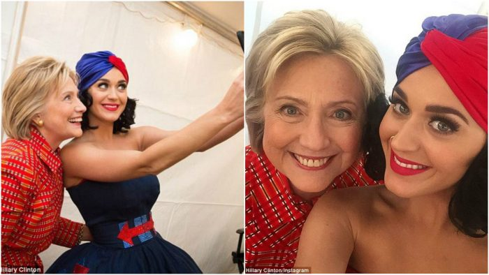 How sweet! Katy Perry designed a shoe and named it after Hillary Clinton