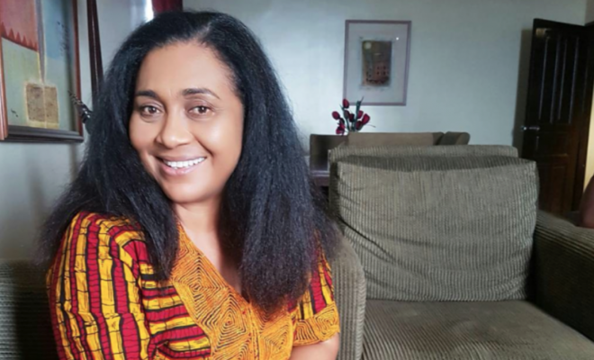 Hilda Dokubo's hair is flourishing through the years while you can't even get your edges to behave!