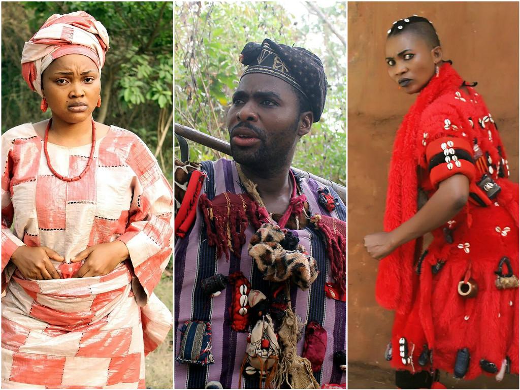 Mercy Aigbe, Ibrahim Chatta and Yewande Adekoya star in new Yoruba movie, 'Iyawo Adedigba'