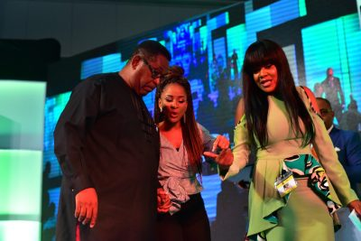 WATCH: Patrick Doyle Challenges Adesua Etomi Over Nollywood's Structure At NECLive 5