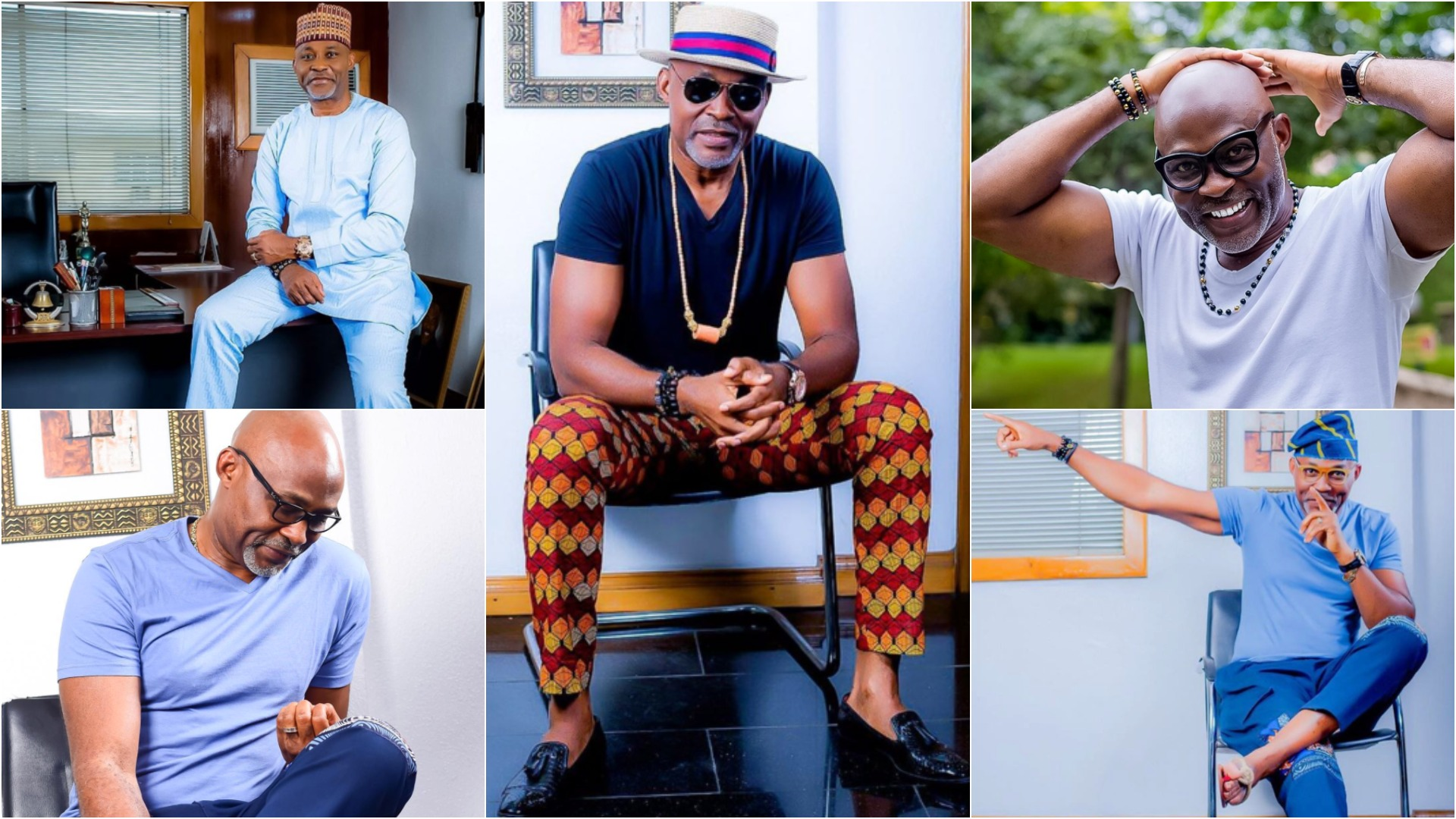 Check out 11 times Richard Mofe-Damijo was every woman's crush